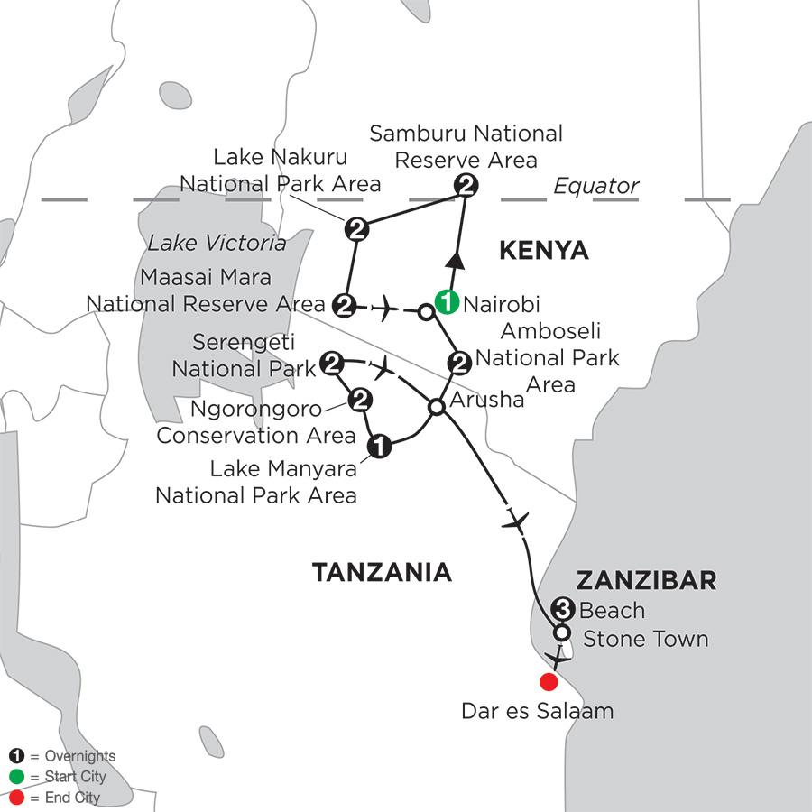 Kenya & Tanzania Private Safari with Zanzibar – Beach