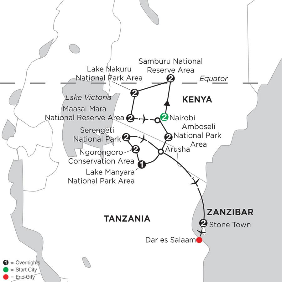 Kenya & Tanzania Private Safari with Nairobi & Zanzibar – Stone Town
