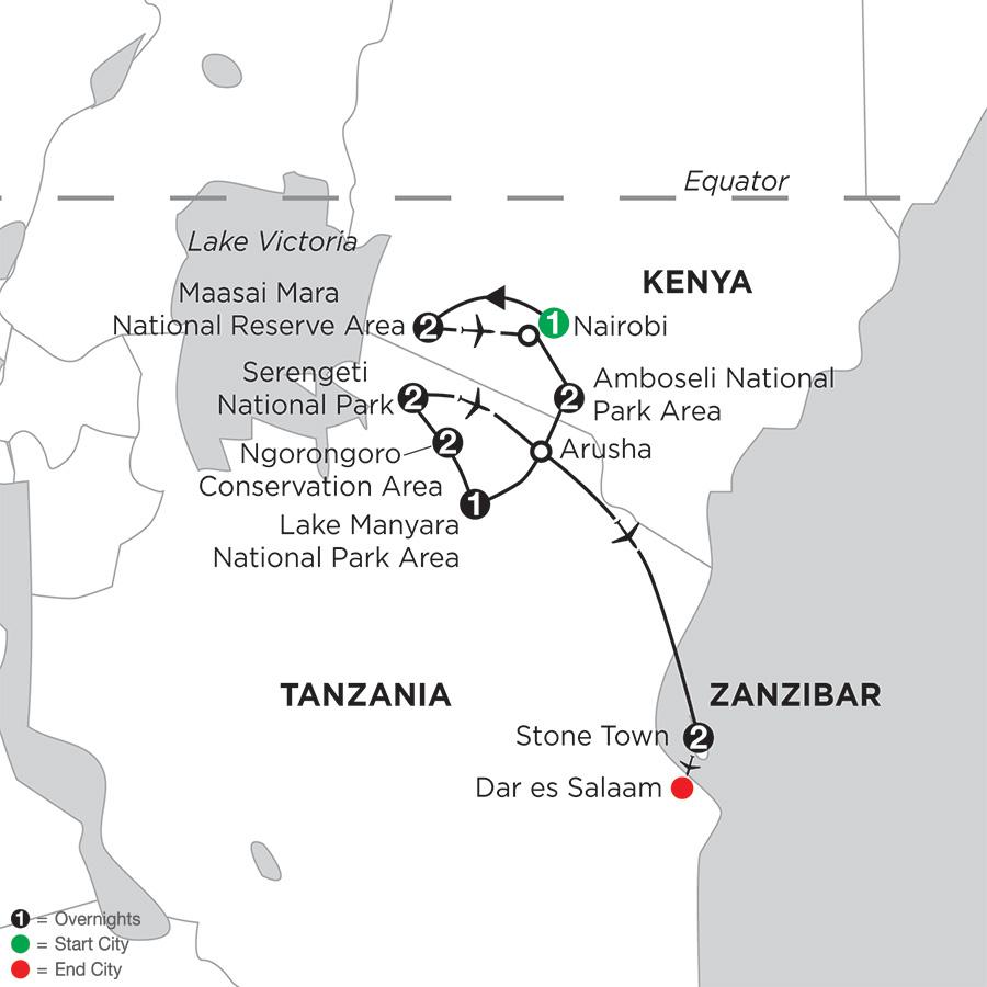 East Africa Private Safari with Zanzibar – Stone Town