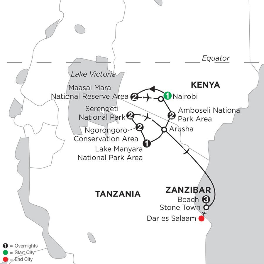 East Africa Private Safari with Zanzibar – Beach