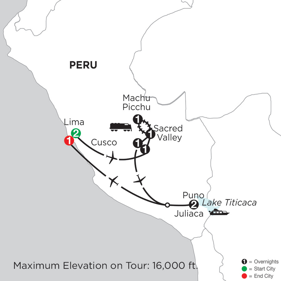 Peru Highlights with Lake Titicaca