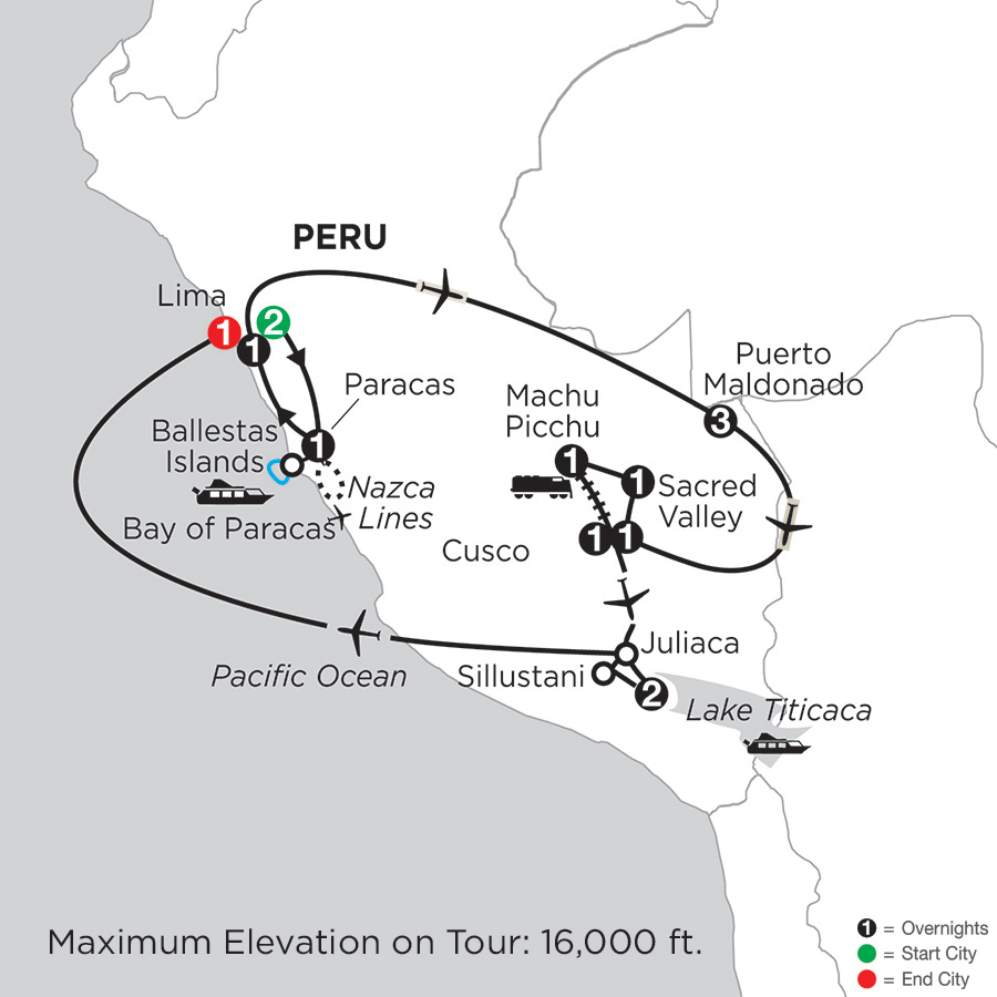 Andean Explorer with Perus Amazon