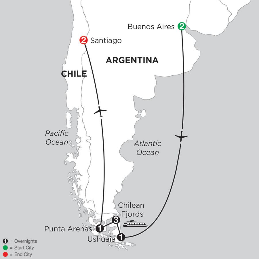 Patagonia & Chilean Fjords