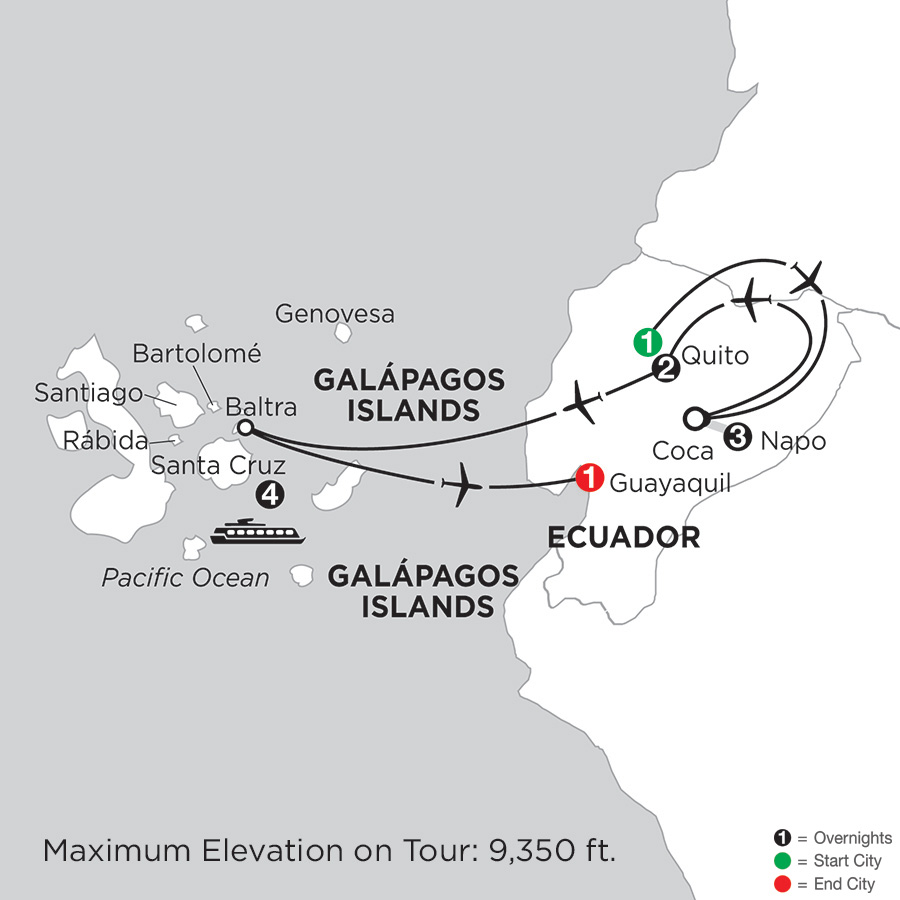 Cruising the Galápagos on board the Santa Cruz II with Ecuadors Amazon