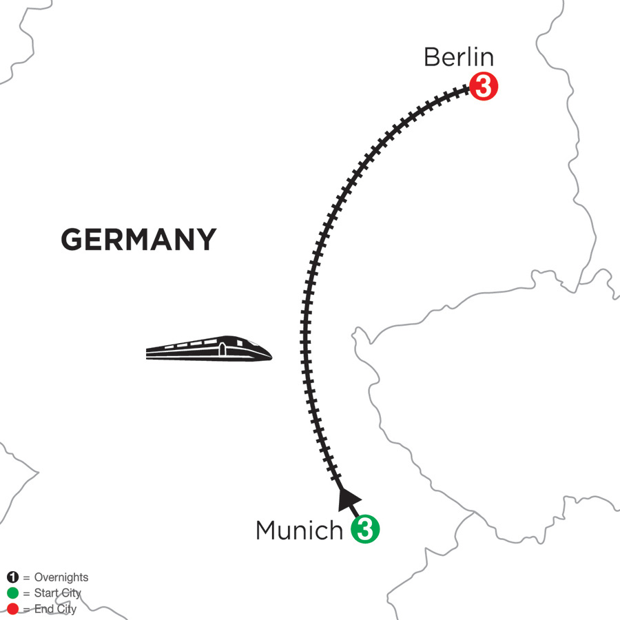 3 Nights Munich & 3 Nights Berlin