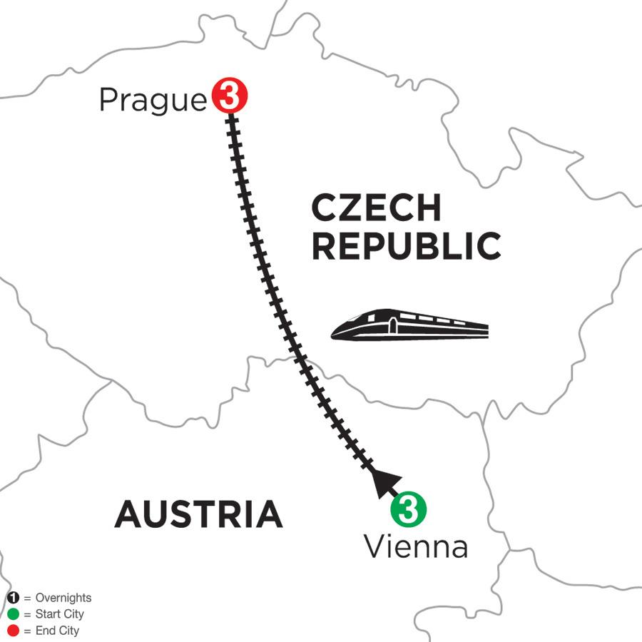 3 Nights Vienna & 3 Nights Prague
