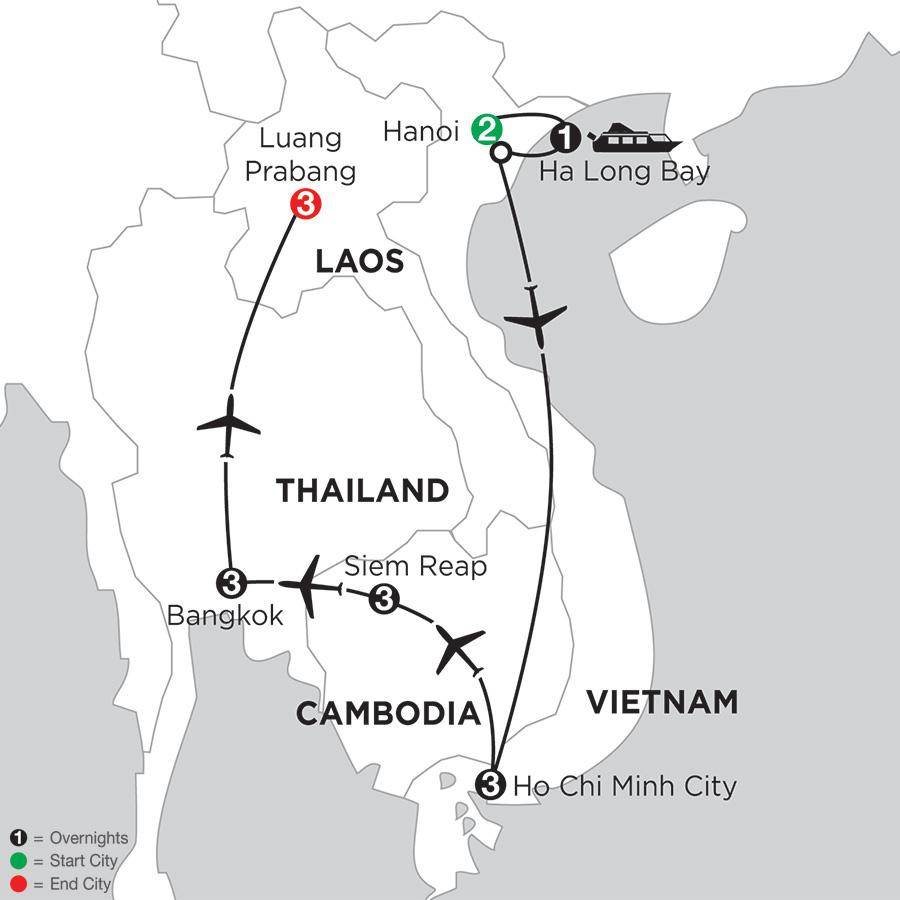 Sensational Southeast Asia with Luang Prabang
