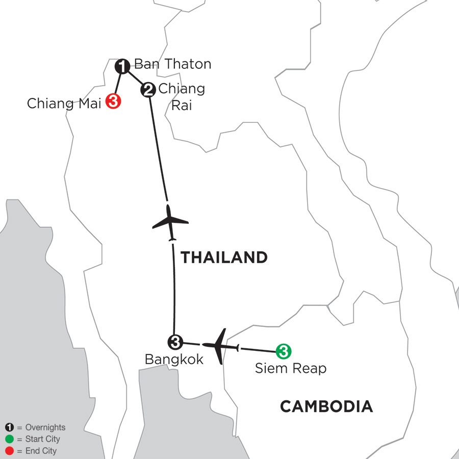 Best of Thailand with Siem Reap