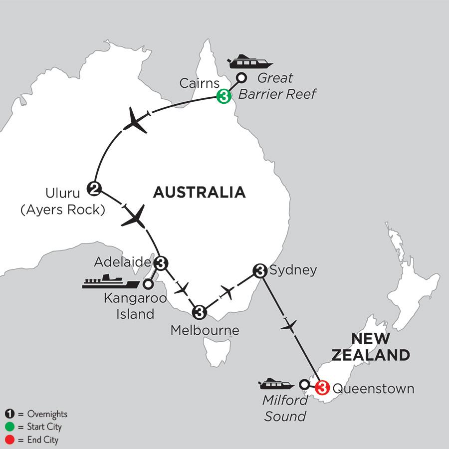 Aussie Adventure with Queenstown