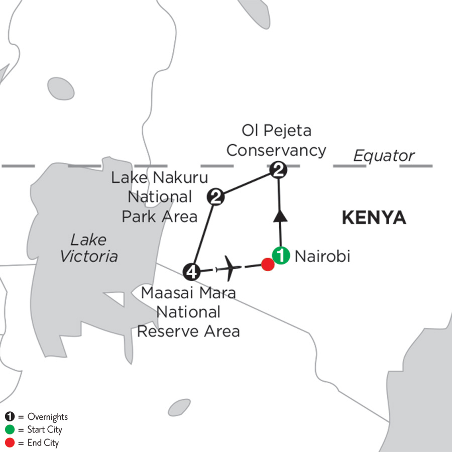 Kenya Private Safari with Maasai Mara Extended Stay