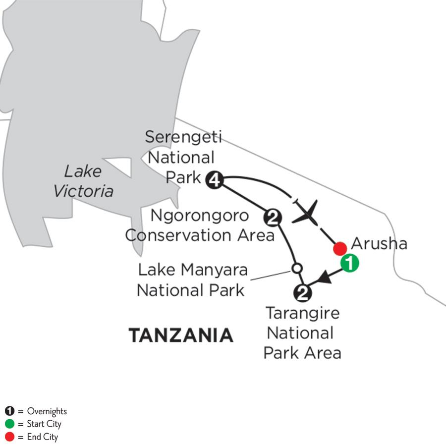 Tanzania Private Safari with Serengeti Extended Stay
