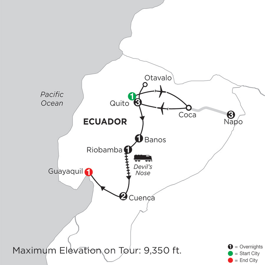 Ecuador Discovery with Ecuadors Amazon