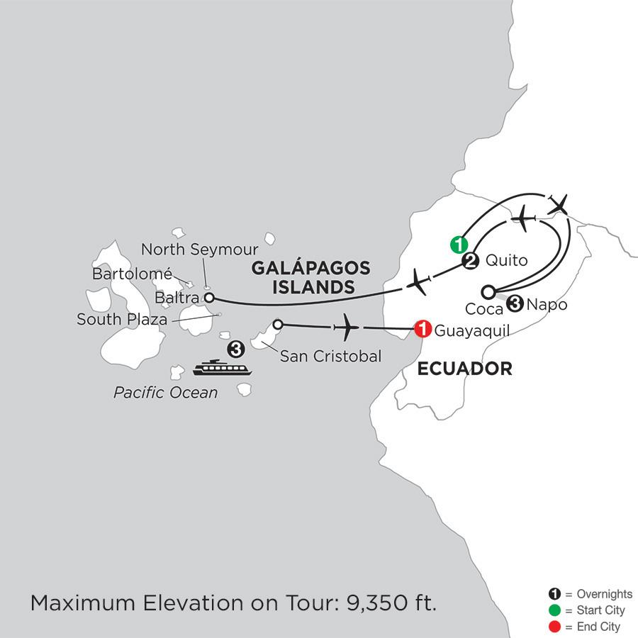 Cruising the Galápagos on the Galápagos Legend with Ecuadors Amazon