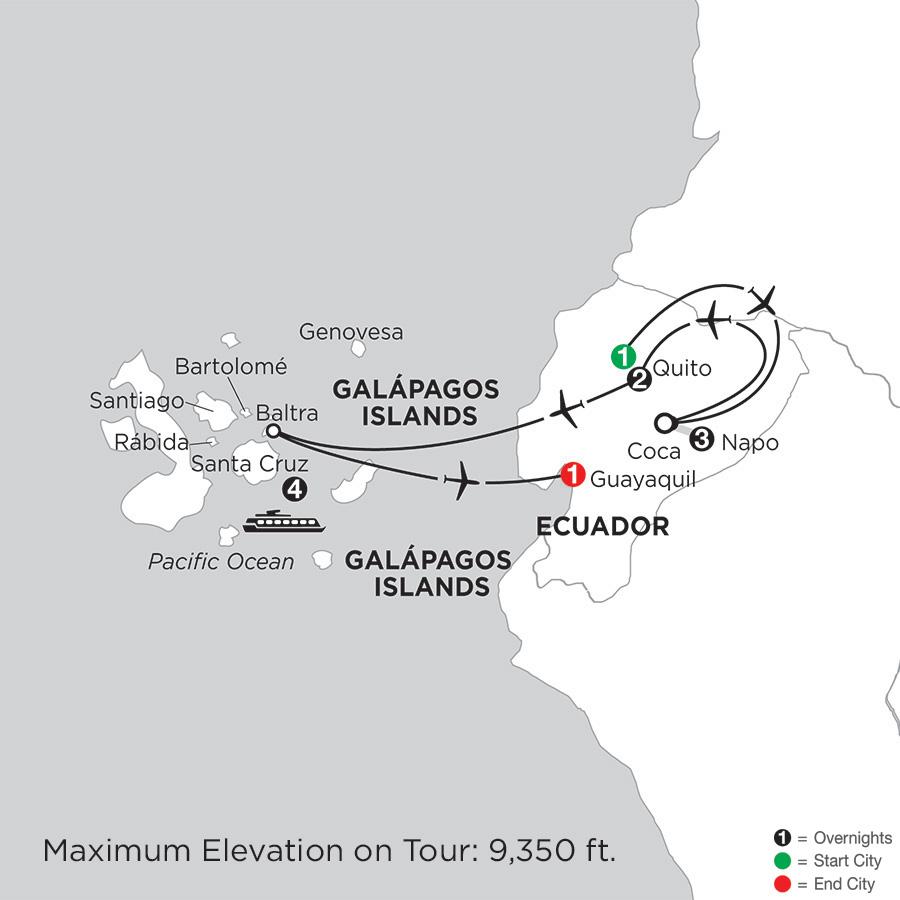 Cruising the Galápagos on board the Santa Cruz II with Ecuadors Amazon