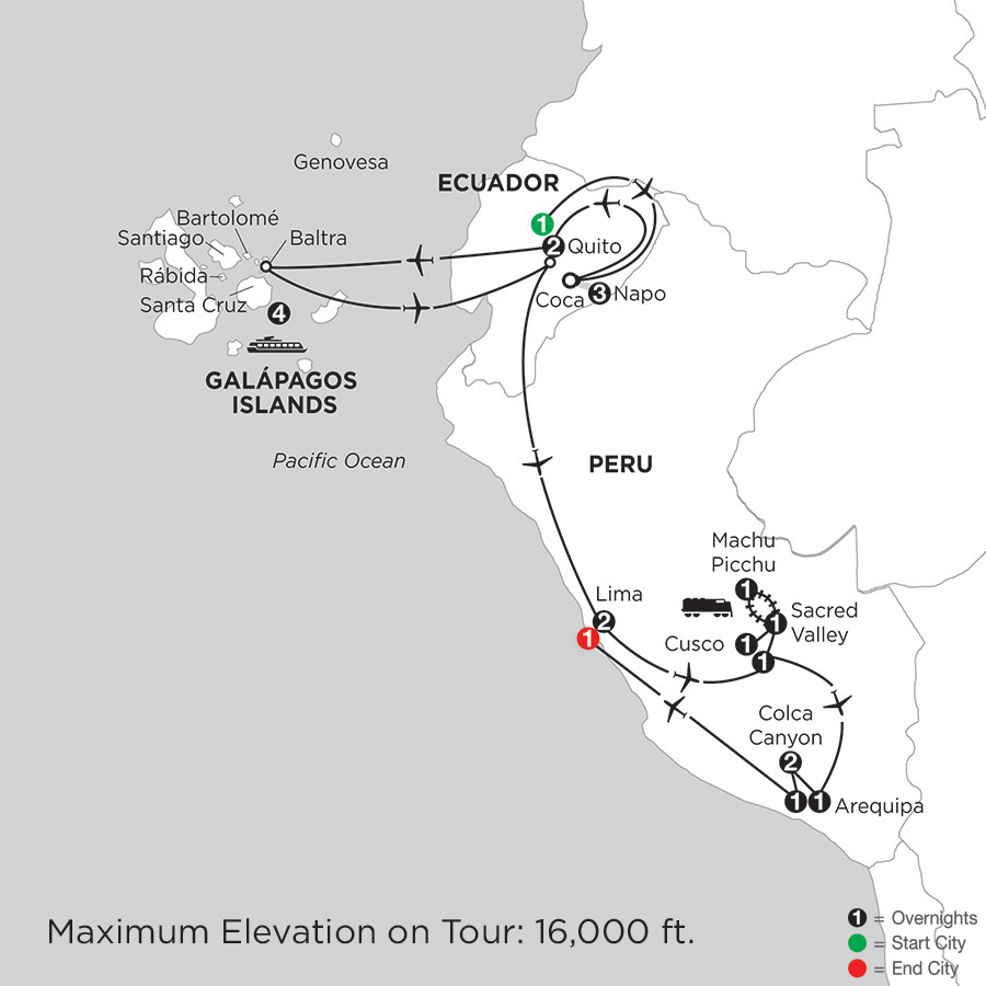 ISYI peru & ecuador vacations with monograms®