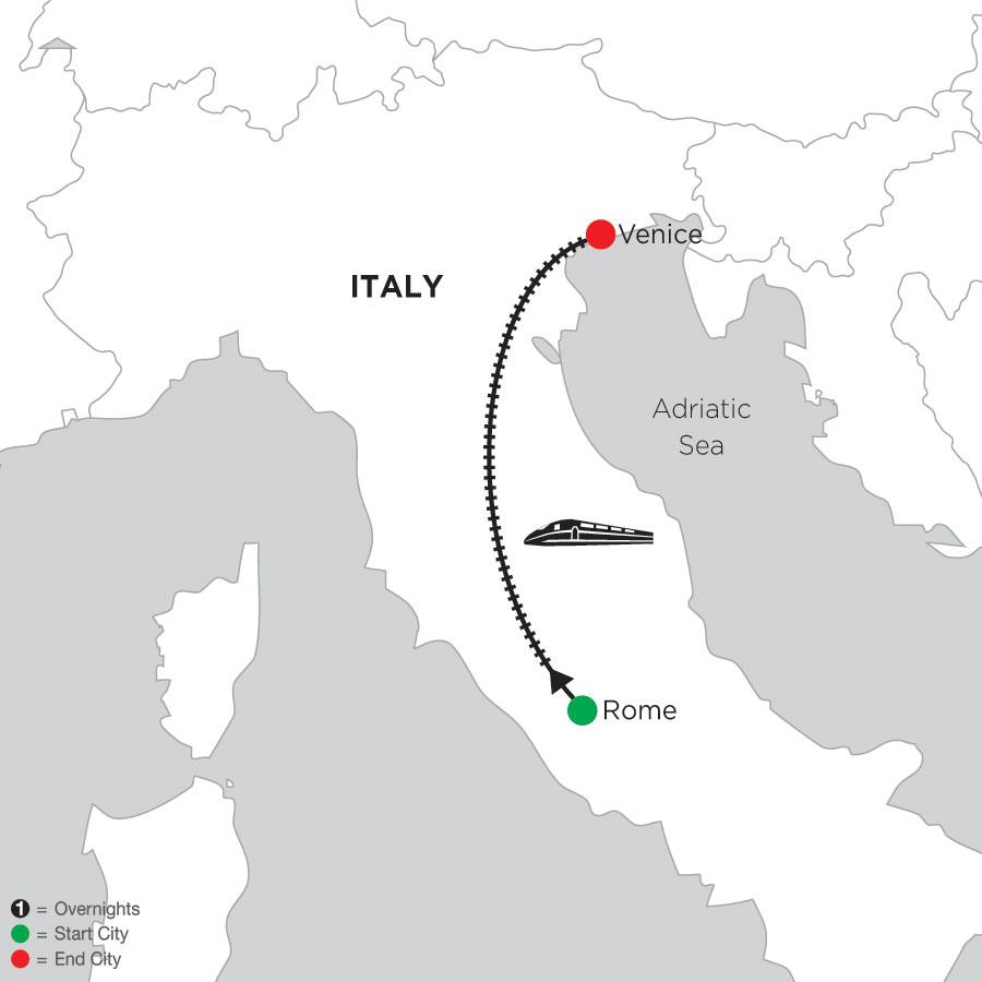 3 Nights Rome & 3 Nights Venice