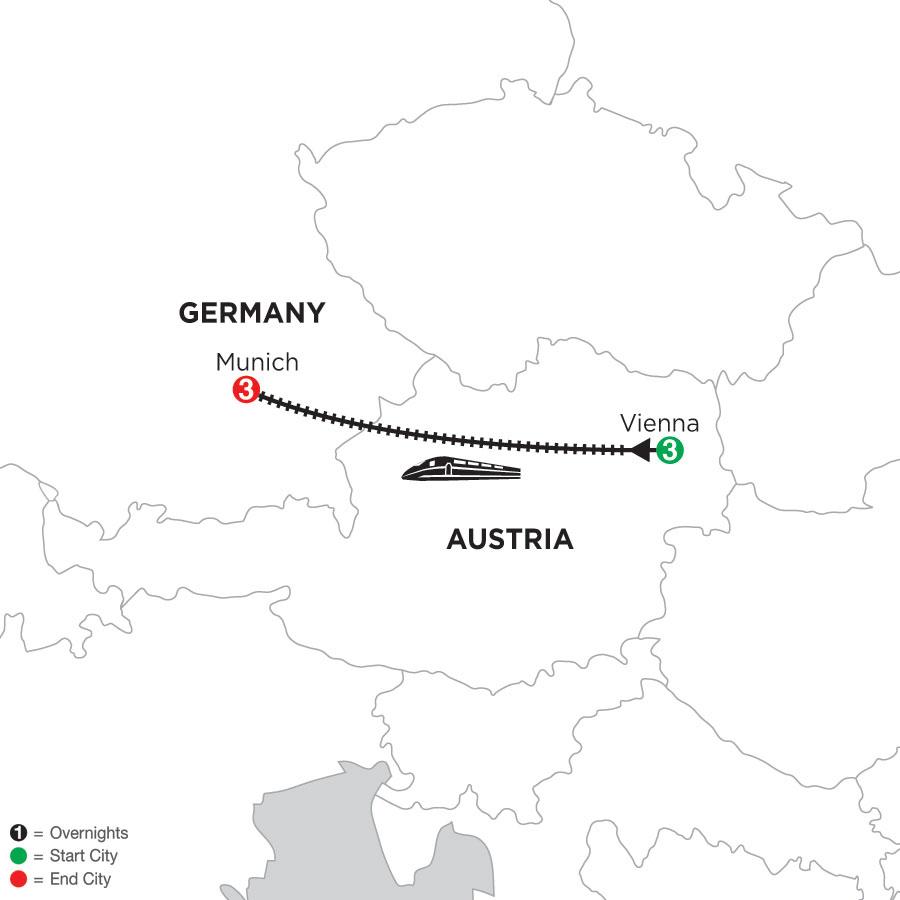 3 Nights Vienna & 3 Nights Munich
