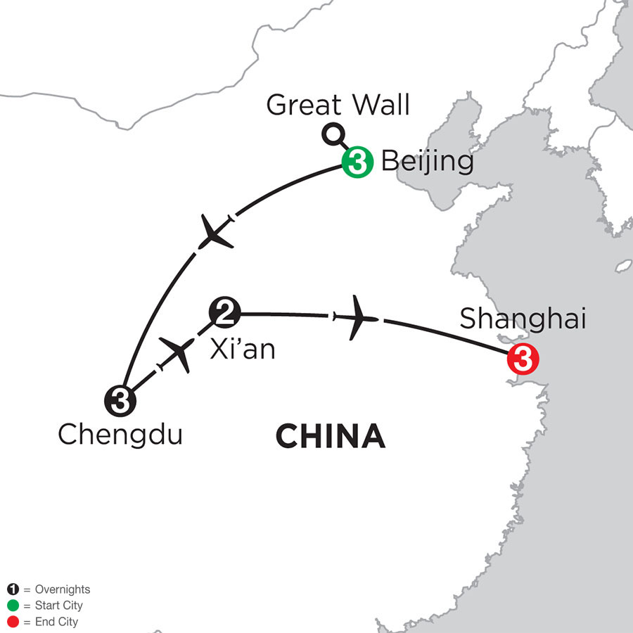Essential China with Chengdu