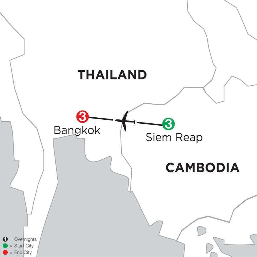 Siem Reap & Bangkok