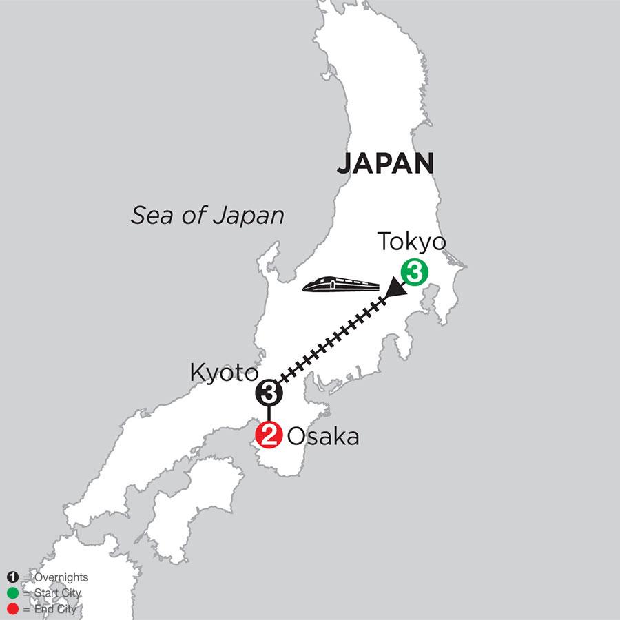 Best of Japan with Osaka