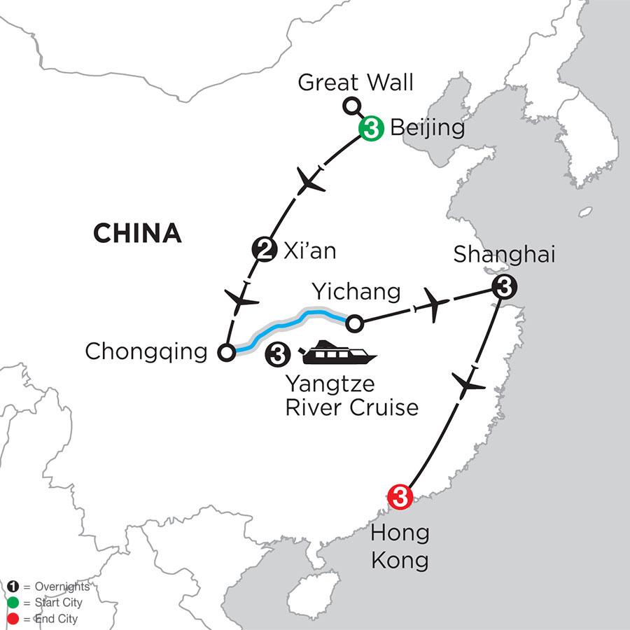 Heart of China & The Yangtze with Hong Kong