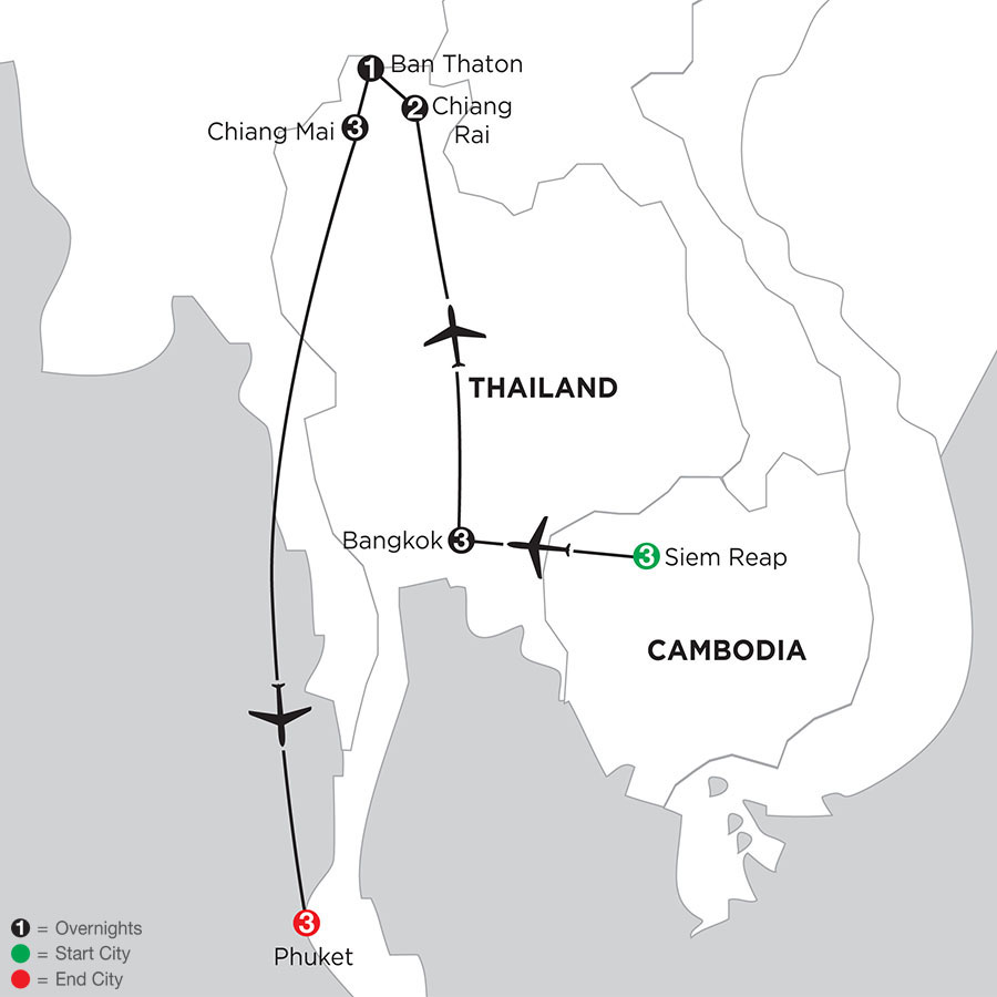 Cambodia Travel & Vacation Packages - Monograms® Travel