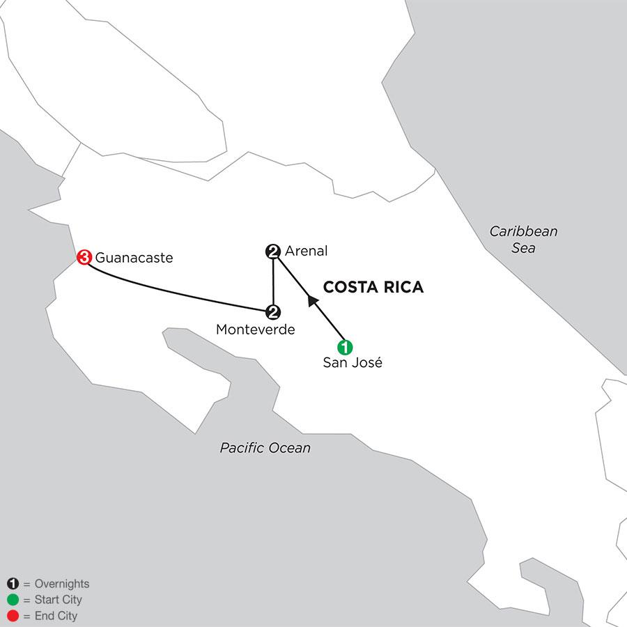 Costa Rica Wonders with Guanacaste