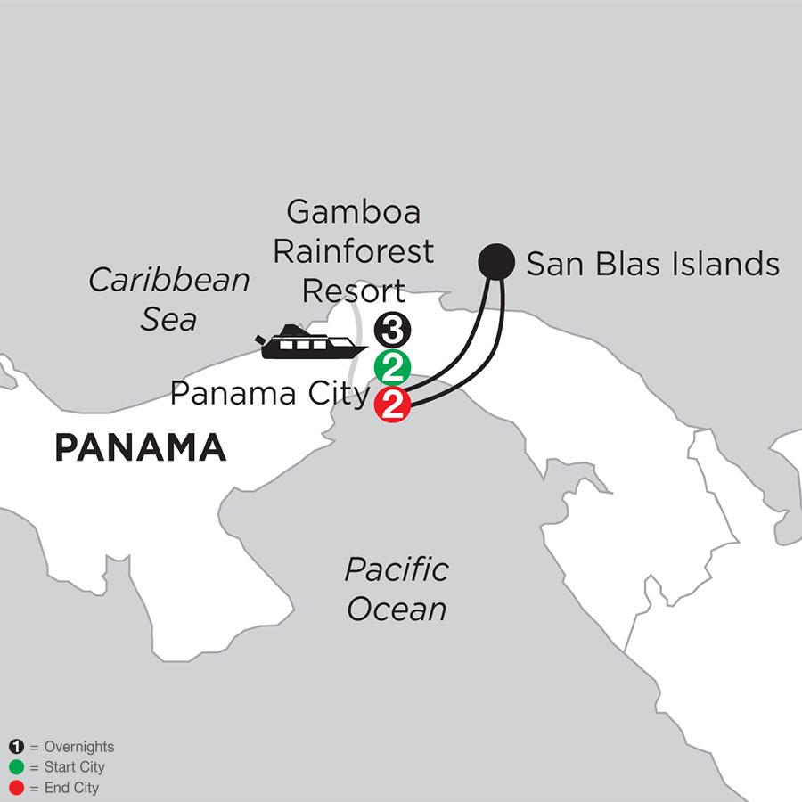 Best of Panama with San Blas Islands