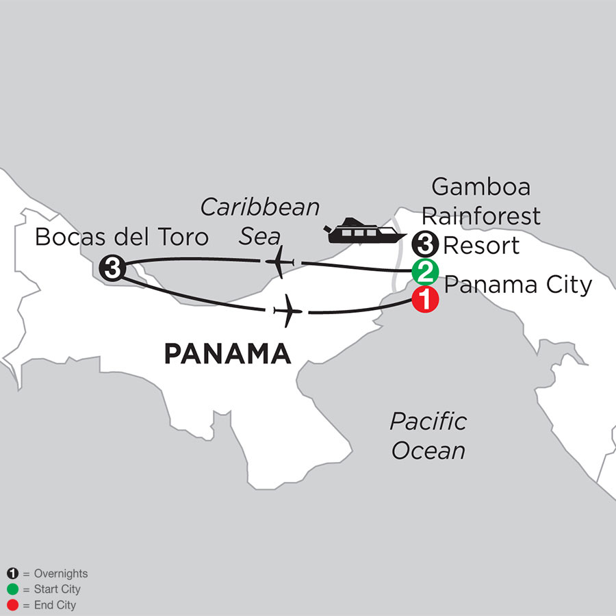 Best of Panama with Bocas Del Toro