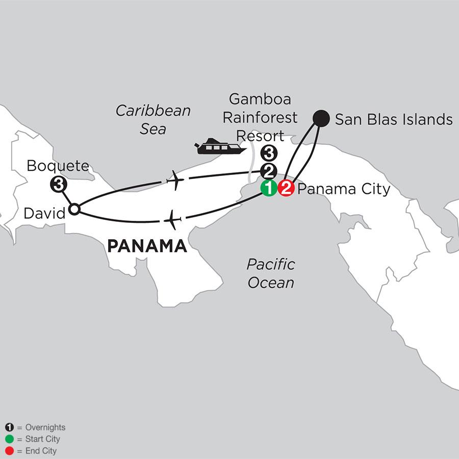 Best of Panama with Boquete & San Blas Islands