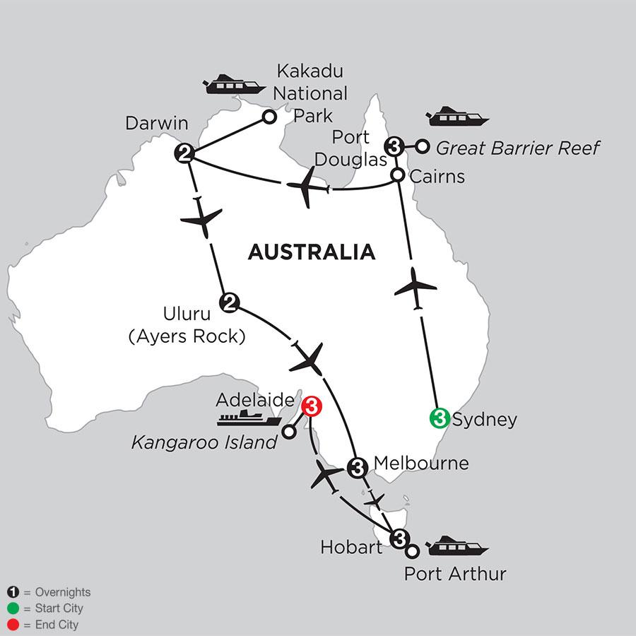 Australia Map Hobart.Hobart Packages Monograms Australia Travel Packages