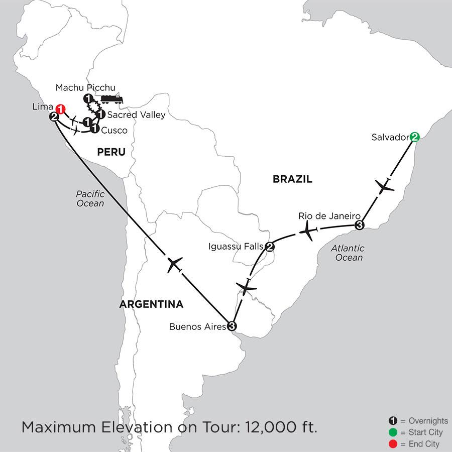 Grand Tour of South America with Salvador