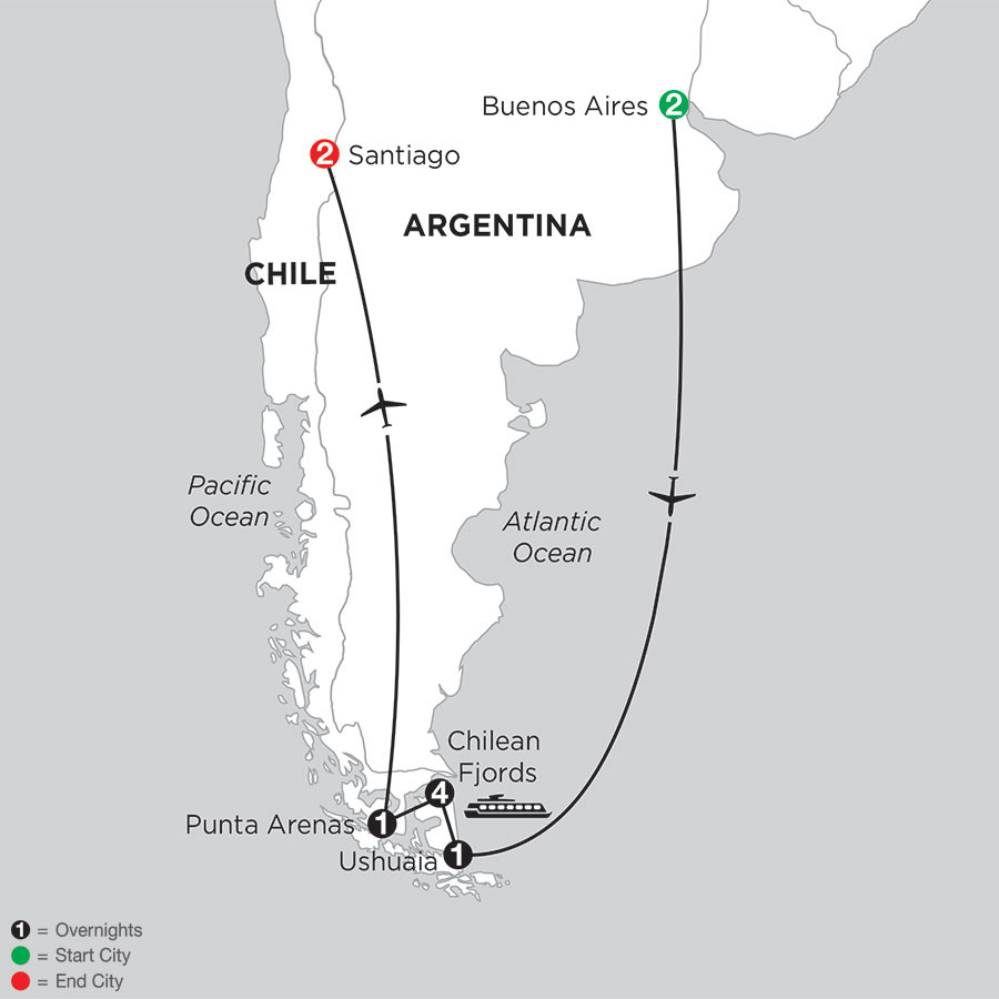 Patagonia & Chilean Fjords