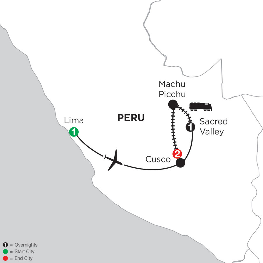 Machu Picchu Getaway with Pre-Stay in Lima