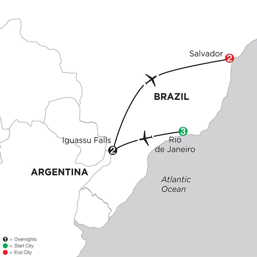 Brazil Highlights with Salvador