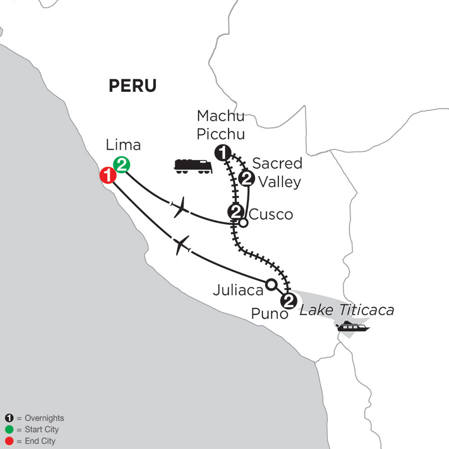 Peru: A Luxury Adventure with Lake Titicaca by Train