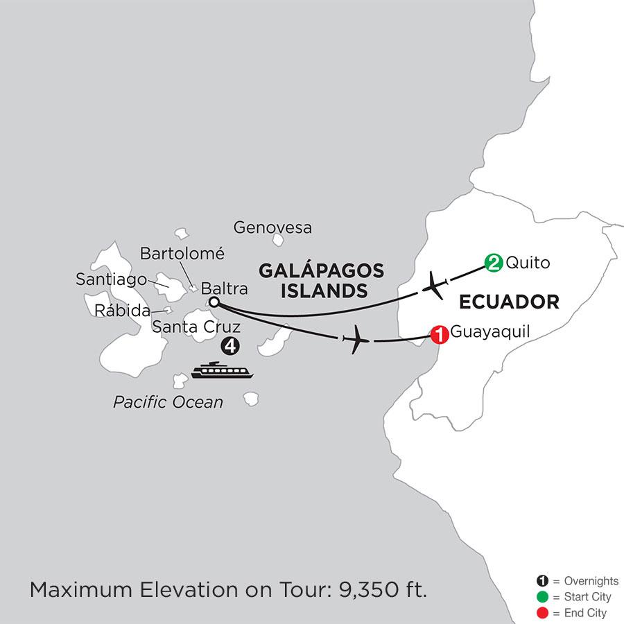 Cruising the Galápagos on board the Santa Cruz II