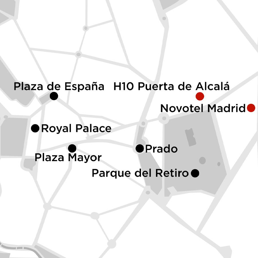 Madrid Getaway 4 Nights