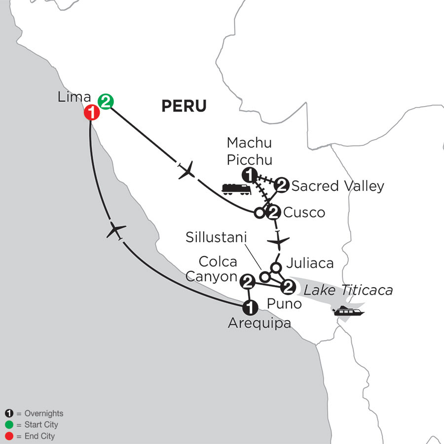 Andean Journey with Arequipa & Colca Canyon