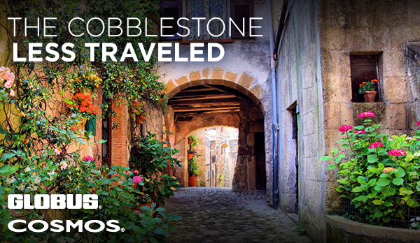 The Cobblestone Less Traveled, GLOBUS, COSMOS