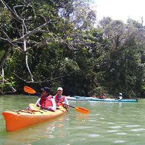 Kayaking on the Chagres River