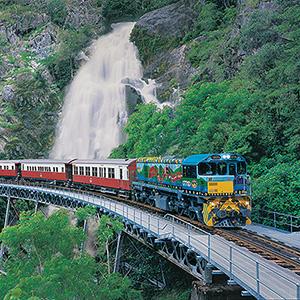 Kuranda Skyrail, Scenic Railway, and Tjapukai Aboriginal Park