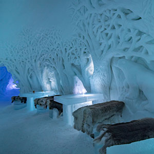Lunch at Tromsø Ice Domes, Norway's Coolest Hotel