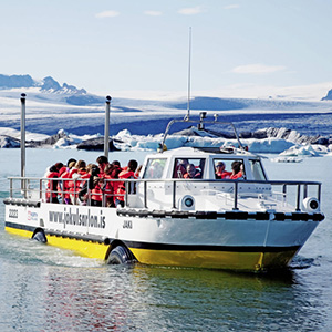 Boat Cruise to Glacial River Lagoon