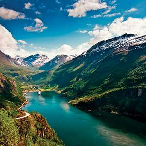 Cruise on Magnificent Geirangerfjord