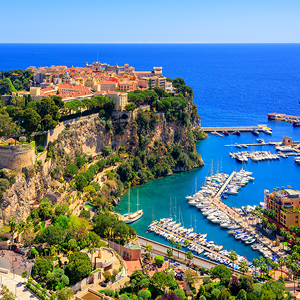 Glamourous Monaco with Royal State Apartments Visit