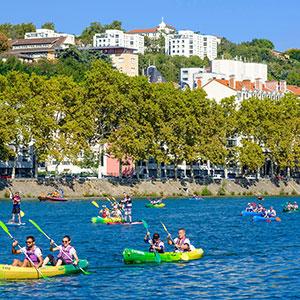 Saône River Canoe Adventure