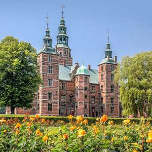 Rosenborg Fairy Tale Castle and Copenhagen's Canal