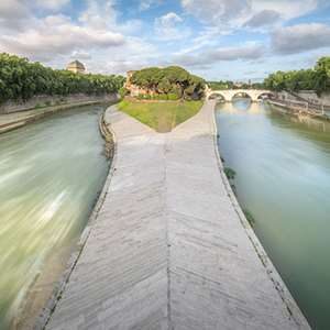 Tiber Island and the Underground of St. Nicholas in Prison