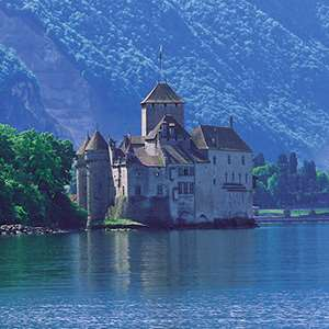 Boat Ride to Chillon and Visit